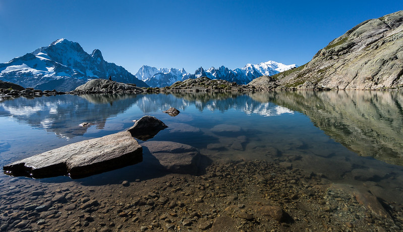 Lac Blanc Reflection, French Alps