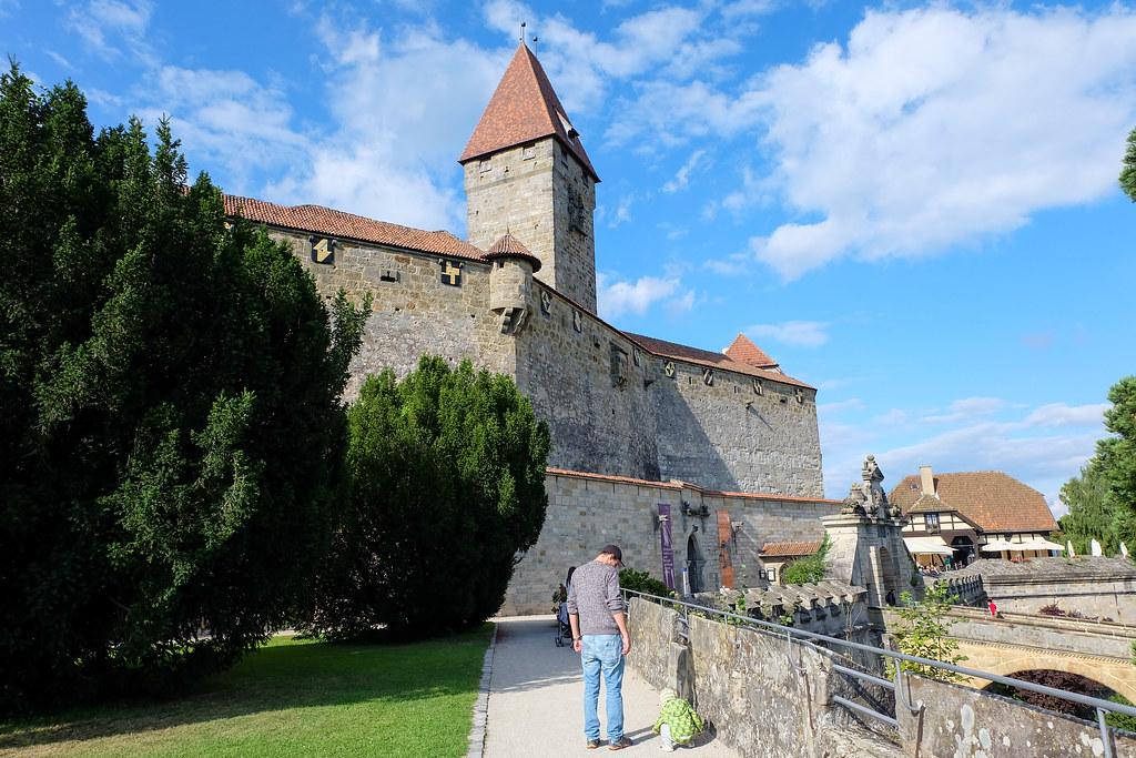 Coburg Brandensteinsebene Upper Franconia Germany
