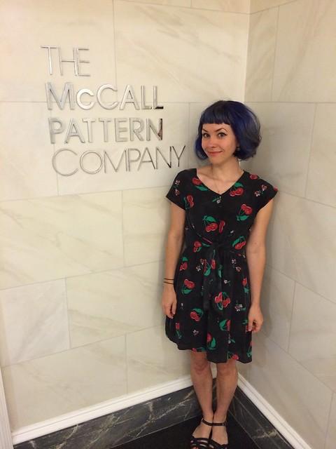 McCall Pattern Company Tour