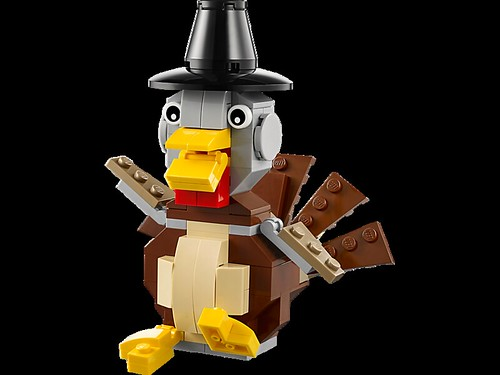 LEGO Seasonal Thanksgiving Turkey (40091) 2