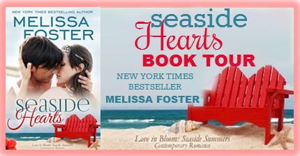 Review of Melissa Foster's Seaside Hearts: Book tour and giveaway
