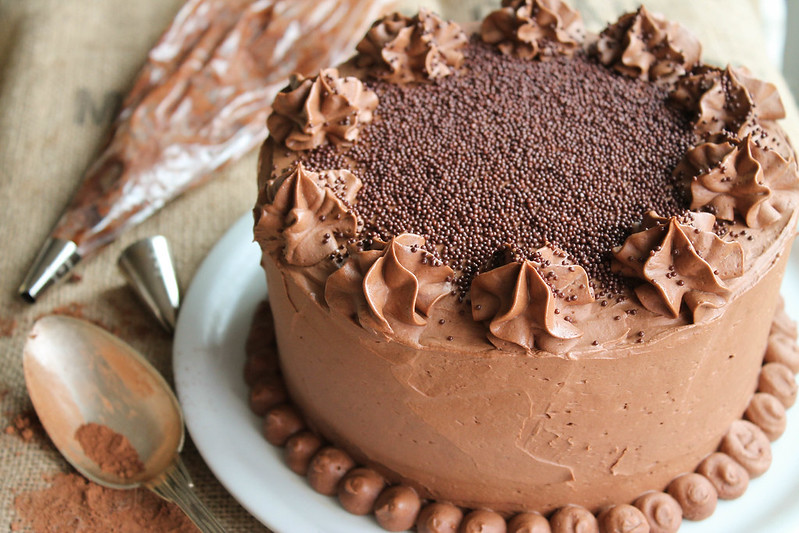 Nutella layer cake recipe