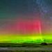 Aurora over Grasslands National Park #2 by Amazing Sky Photography