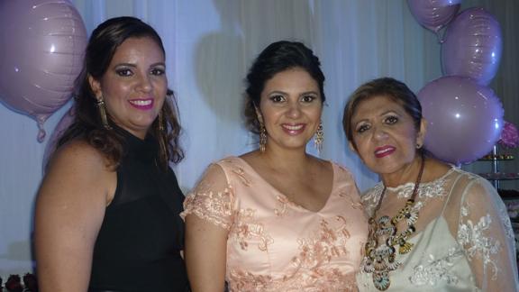 Christianne Corrêa, Renata Moura Santos e Rita Moura Sousa