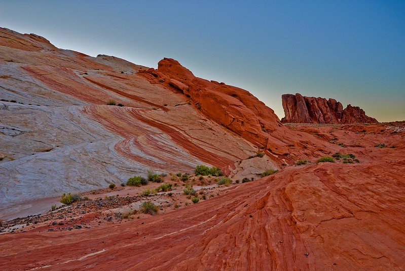 Hill with Waves - Valley of fire State Park