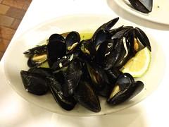 mussels at Trattoria Rivetta