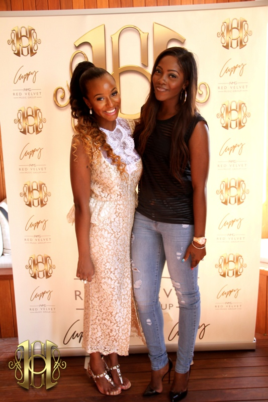 Tiwa Savage, Denrele Edun and more attend House Of Cuppy New