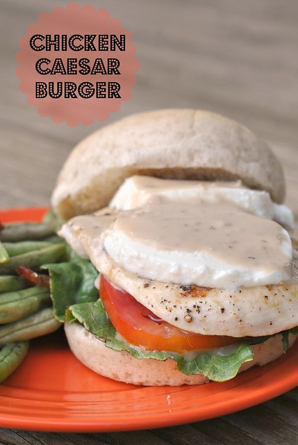 Chicken Caesar Burger 1