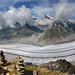 Aletsch Glacier Panorama by ladigue_99