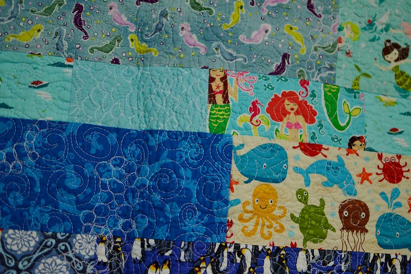 Riddle and {Whimsy} Under the Sea (closeup)