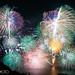 Lake Biwa Fireworks 2014 in heavy rain 琵琶湖花火大会