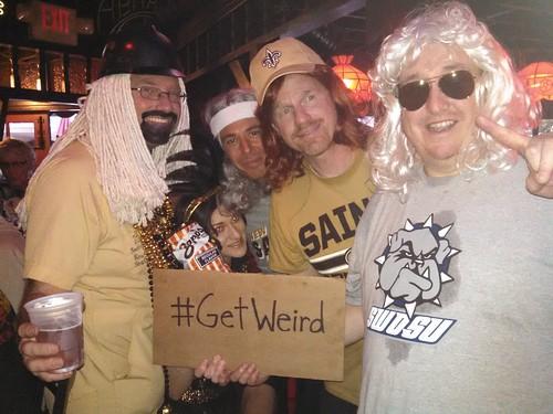 #GetWeird