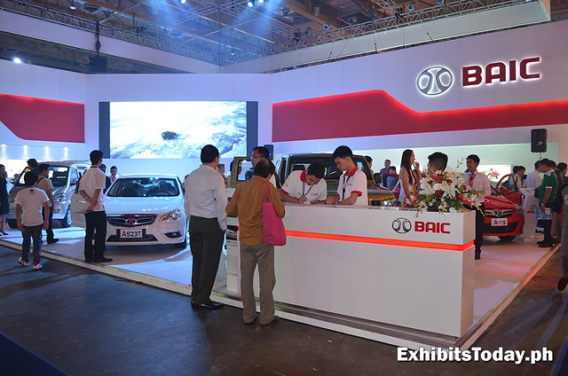 BAIC Trade Show Display