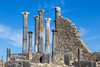 Volubilis - Partly excavated Roman city situated near Meknes