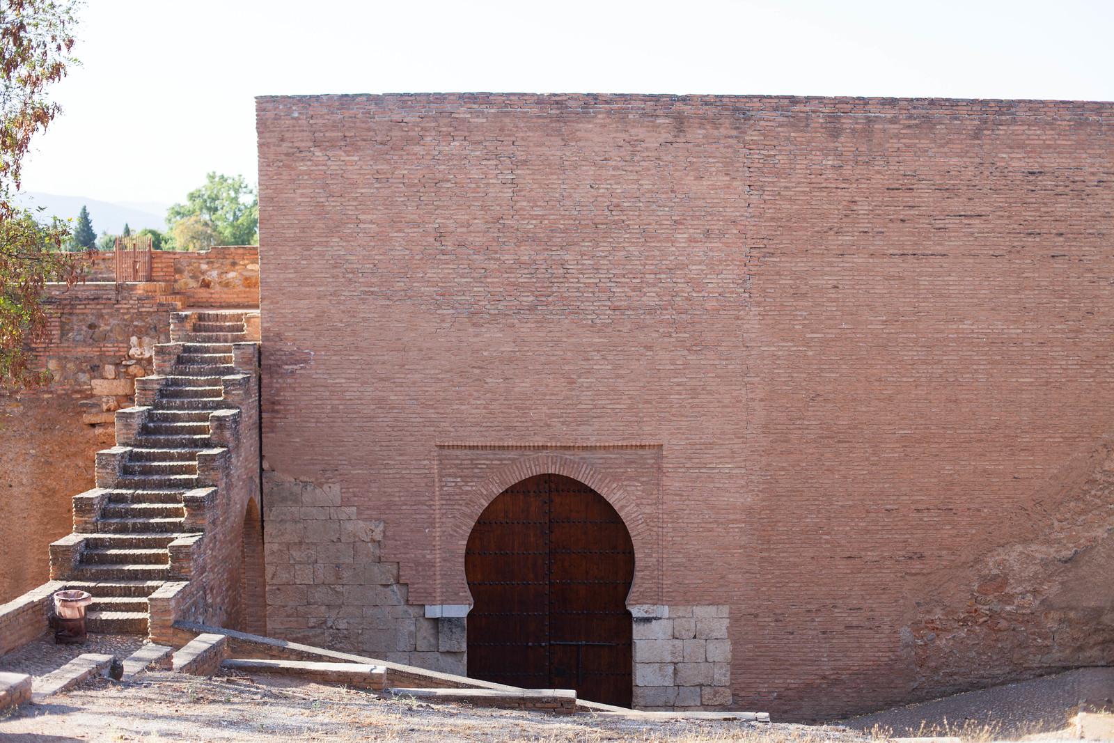Puerta de Siete Suelos, The Alhambra, Granada Spain