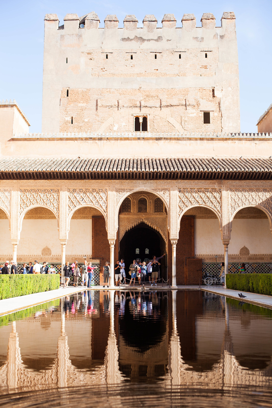 Comares Palace, The Alhambra Granada Spain