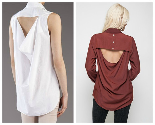 Drape Back Shirt Inspiration