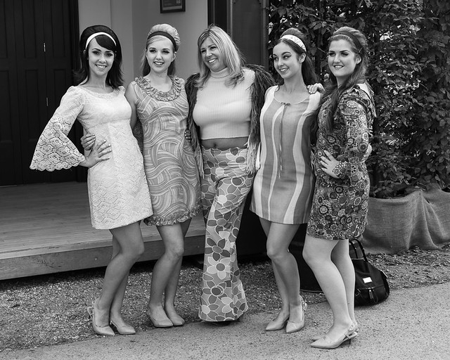 1960's girls - Goodwood Revival