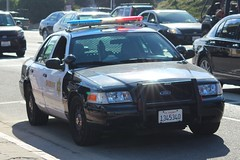 Los Angeles County Sheriff Ford Crown Victoria