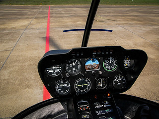Fly away in a Robinson r22 beta