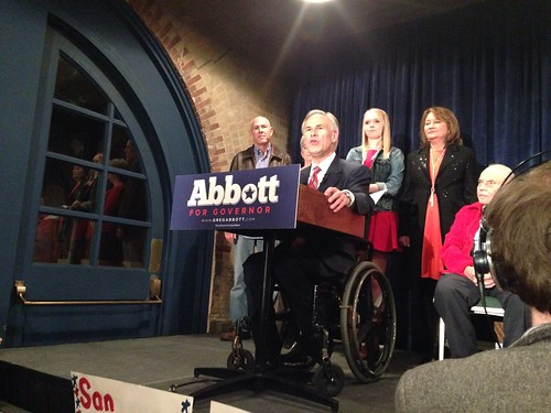 Greg Abbott win the Texas GOP nomination for Governor in San Antonio