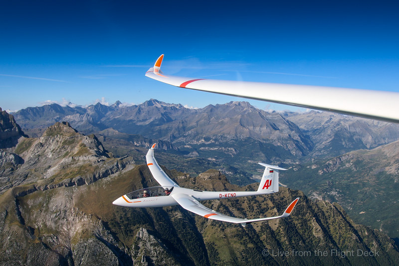 Gliders in formation