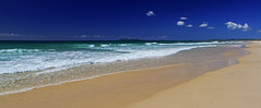 Byron Bay on the horizon
