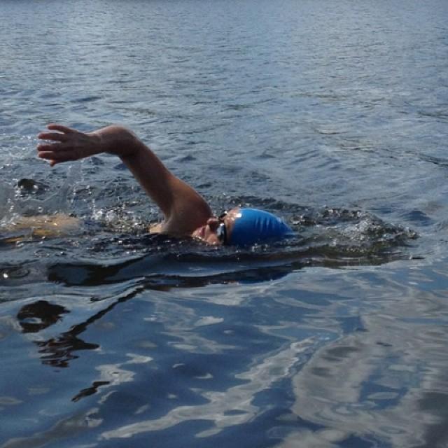 #justkeepswimming #triouradventure #triathletesarecrazy @ironmantri #imaz #trainhard