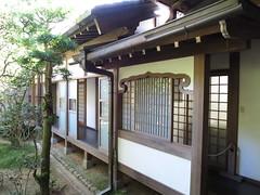 龍安寺の裏庭
