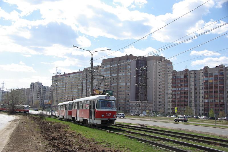 Samara tram Tatra T3SU 2169
