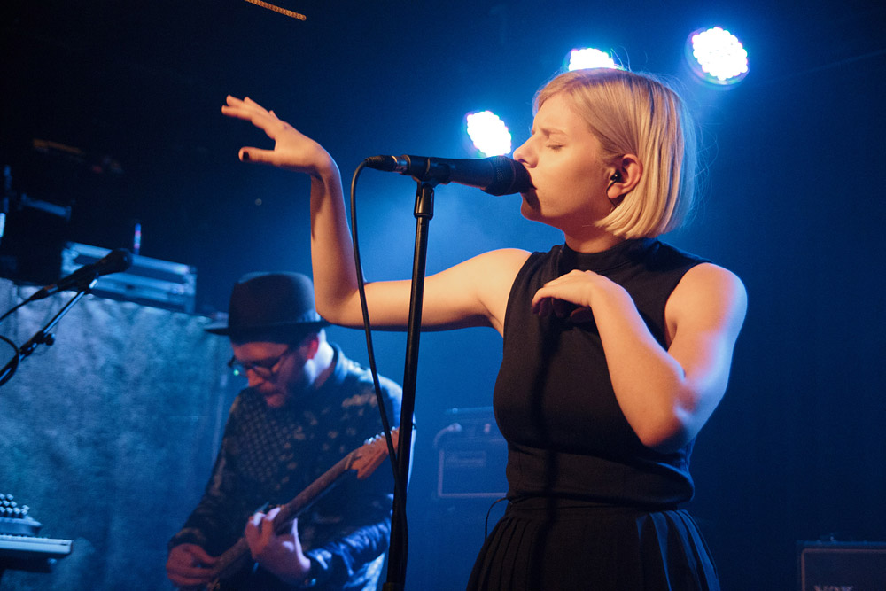 AuroraAksnes @ Ja Ja Ja, The Lexington, London 27/09/14