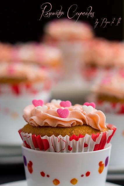 Rosewater Cupcakes (8)