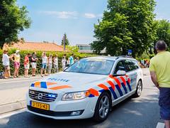 Tour de France 2015 - Dutch police car - Haastrecht - Zuid-Holland - Pays-Bas
