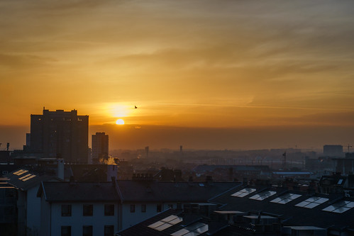 sunset sun sky heaven city sdmtr view brussels trip travel voyage sony sonyalpha fullframe sonyalpha7 photo