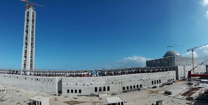 مشروع جامع الجزائر الأعظم: إعطاء إشارة إنطلاق أشغال الإنجاز - صفحة 19 33394093145_9a35848bac_b