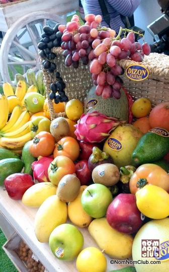 Fruits from Dizon Farms