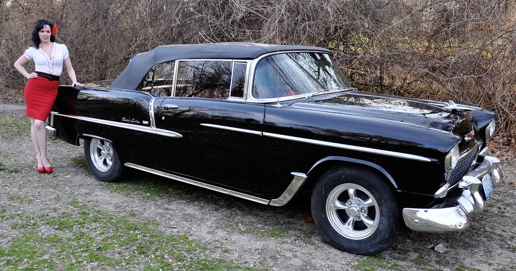 1955 Chevy Bel Air Photo Shoot Clean Cut Creations