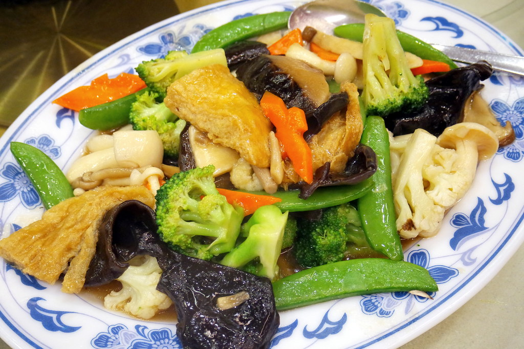 Pow Sing Restaurant: Pan Fried Vegeterian