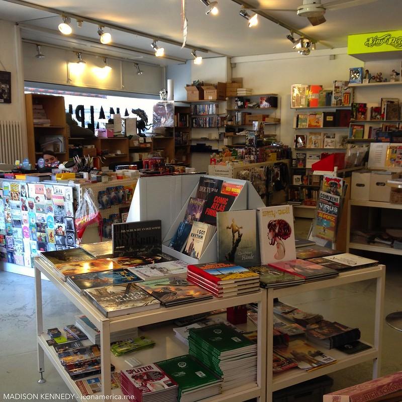 Analph, comic book shop