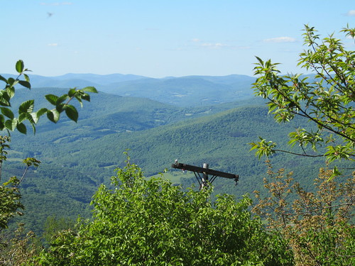 View east from Graham Mountain