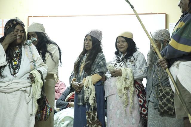 Segundo taller de mujeres artesanas del Chaguar