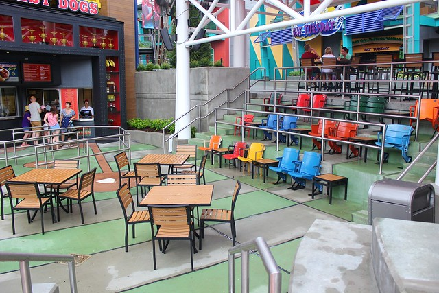 Hot Dog Hall of Fame at Universal Orlando