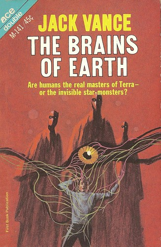 Jack Vance - The Brains of Earth (Ace M141, 1966)