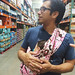 Anthony Dada Elias baby Sling wrap babywearing costco by ex.libris