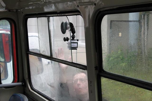 Troleibusas.lt savininkas lipdo GoPro kamerą. Tikriausiai greitai bus koks nors klipas.