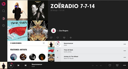 Listen to Zoe Radio on Beats Music