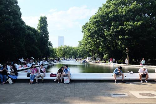 Yoyogi park,Tokyo.