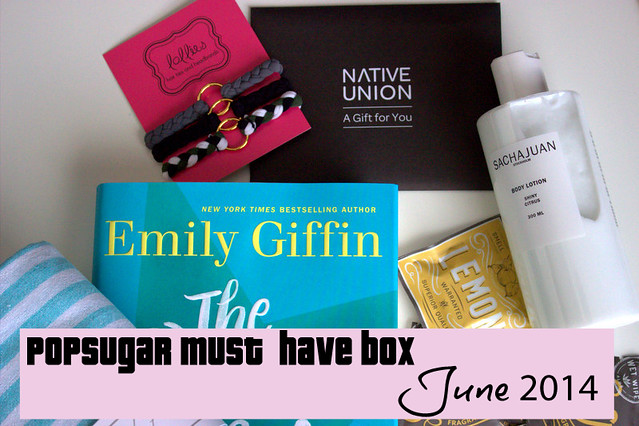 POPSUGAR Must Have Box - June 2014 Edition