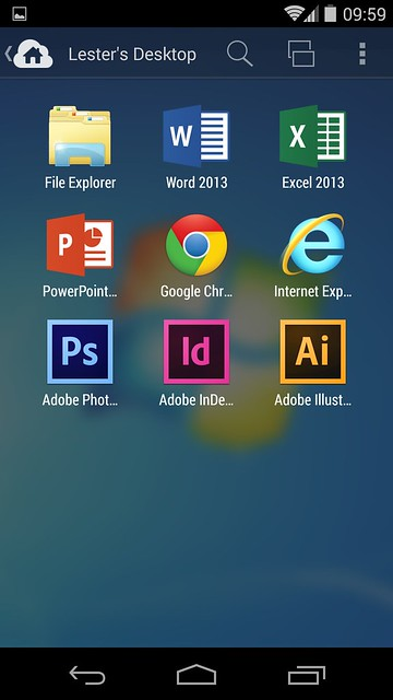 Parallels Access 2.0 - Android App
