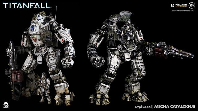 threezero 1/12 TITANFALL Atlas